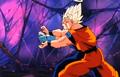 Deadly Vision - Goku Vegeta combo attack 2