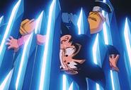 GT Goku biting