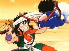 Goku vs Yamcha