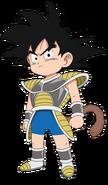 Son Goku bambino dbs