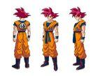 Goku SSG (Dragon Ball Super Broly) Boceto