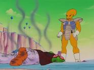 Soldado de Freezer 4 despúes de matar al Namek