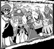 Equipo Universo 4 Manga