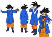 Goku 2 diseño DBS Broly