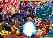 Goku Black Freezer Champa Bills Goku SSJ Azul
