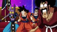 Universo 7 sorprendido por la batalla