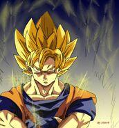 Goku SSJ another version by misspsyb