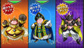 Kabra, Elite et Salaga (Super Class-Up)