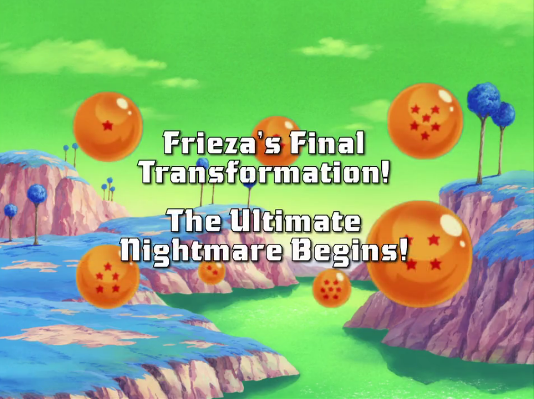 Frieza's Final Transformation! The Ultimate Nightmare Begins!