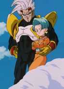 Baby Vegeta e Bulma posseduta