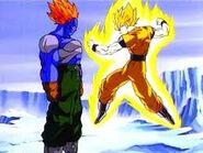 Goku ssj vs 13