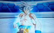 Son Goku (Doctrina Egoísta Suprema) en el juego de arcade Super Dragon Ball Heroes