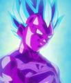 Vegeta Falso de moco Super Saiyajin Azul