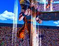 XV Goku using Instant Transmission