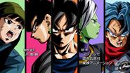 Dragon Ball Super - Future Trunks Arc Main Cast DragonTeam