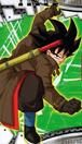 Goku Xeno calendar art