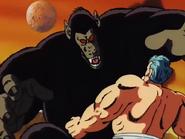 Roshi Full Power vs Goku Ozaru