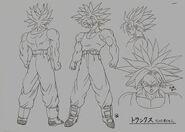 Sketch DBZ11 Trunks (SSJ)