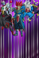Super Dragon Ball Heroes World Mission - Card Background - Subspace Summon; Demon Realm Warriors