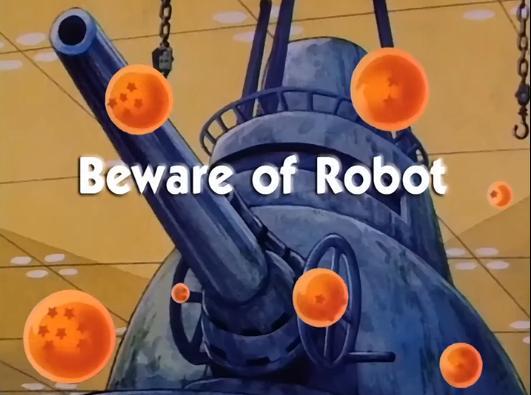 Beware of Robot