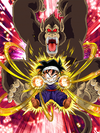 Dokkan Battle Boss Gohan (Youth) (Great Ape) card (Base Form)