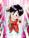 Dokkan Battle Bursting with Power Pan (Kid) card
