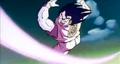 Gohan, Defeat Your Dad!! - Ginyu throws ki attack