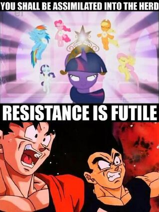 Hilarious MLP and DBZ picture.jpg