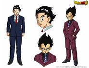Goku Vegeta DBS Ropa Elegante