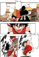 Goku attacks the Red Ribbon Army soldiers