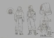 Sketch DBZ11 Trunks (del futuro)
