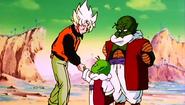 Goku nad Dende
