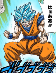 Supersaiyano Azulado Perfeccionado Kaio-ken manga a color.png