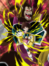 Dokkan Battle Exquisite Assault Fasha (Great Ape) card (Base Form SSR-UR)
