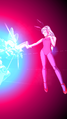 DB Legends Bunny Girl Bulma (Youth) (DBL16-06S) Surprise Blaster (Ray Gun blast hits Semi-Perfect Cell at point blank range)