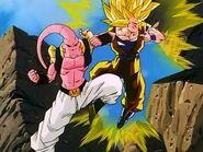 GokuSSJ3 vs SuperBuu