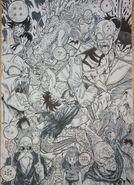 Masaki Sato's drawing of the Piccolo Jr. Saga 02