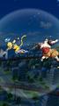 DB Legends Super Saiyan Shallot (DBL00-01) Super Saiyan Goku (DBL25-07S) Destructive Dragon Fist (Special Move Arts - Dash Punch)