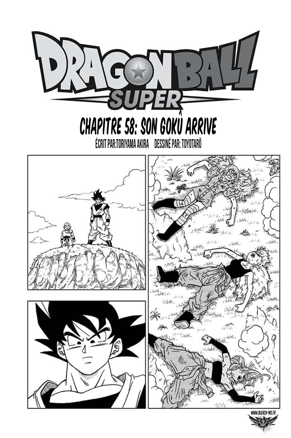 Dragon Ball Super chapitre 058