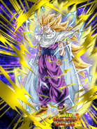 Dokkan Battle New Horizons Super Saiyan 3 Gohan (Teen) card (DBH Demon Clothes)