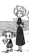 Bulma y su madre en jaco