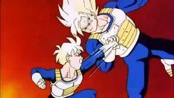 Goku and Gohan training.jpg