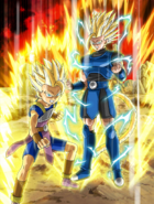 Cabba y Shallot Dragon Ball Legends