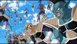 Frieza's 1000 soldiers army 01, Resurrection 'F', IsraeliteVIP pic snap.png