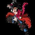 Son Gokû - Xeno (Super Saiyan 4 - Artwork)