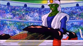 Torbie taken out by the Grand Kai's medics after he got defeated by Pikkon