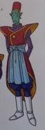Asistente Shin-jin del Universo 6 Scan