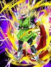 Dokkan Battle Furious Instincts Great Saiyaman (SS2) card (Super Saiyan 2 Great Saiyaman - Sunglasses UR)