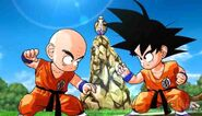 Goku VS Krilin DBKINGPIccolo