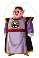 Kaio del sur cuerpo completo